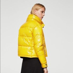Mango crop waterproof puffer